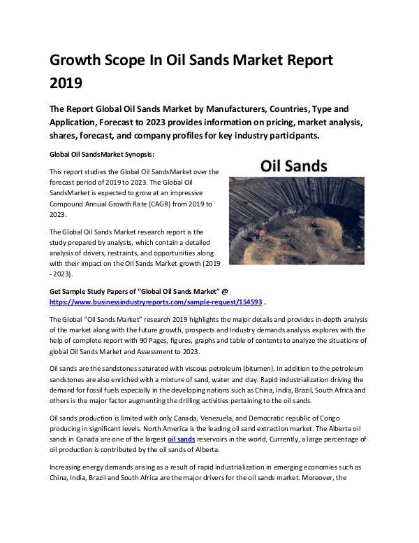 Global Oil Sands Market Report 2019-converted