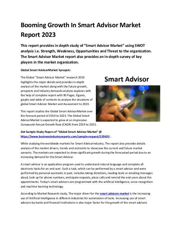 Global Smart Advisor Market Report 2019-converted