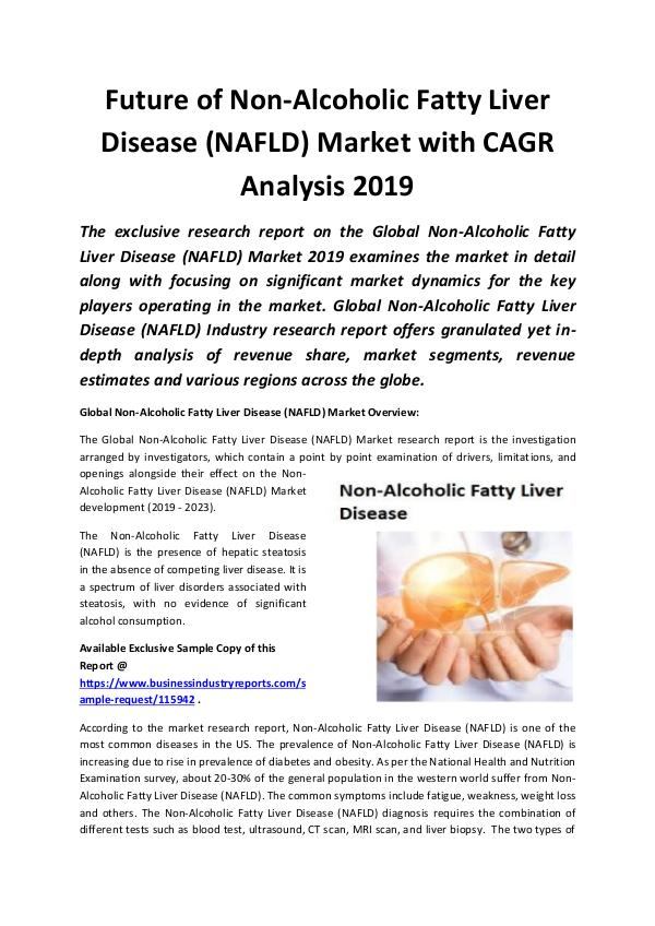 Global Non- Alcoholic Fatty Liver Disease Market 2