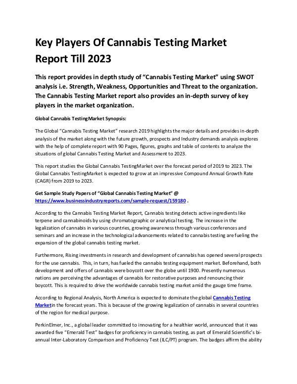 Global Cannabis Testing Market Report 2019-convert