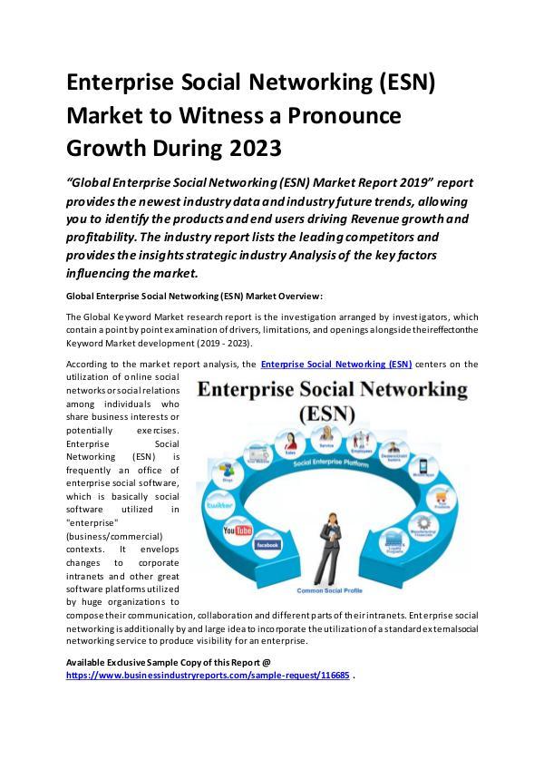 Global Enterprise Social Networking (ESN) Market R