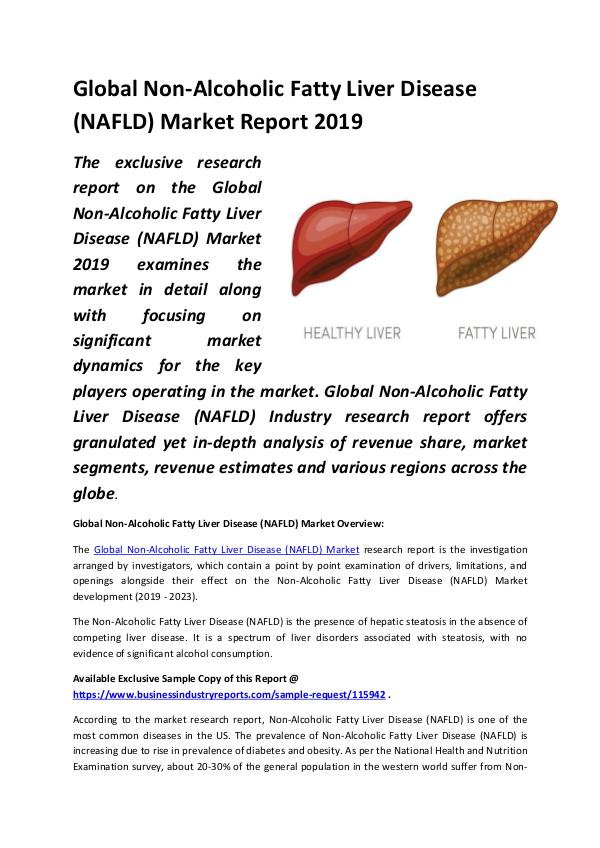 Global Non-Alcoholic Fatty Liver Disease (NAFLD) M