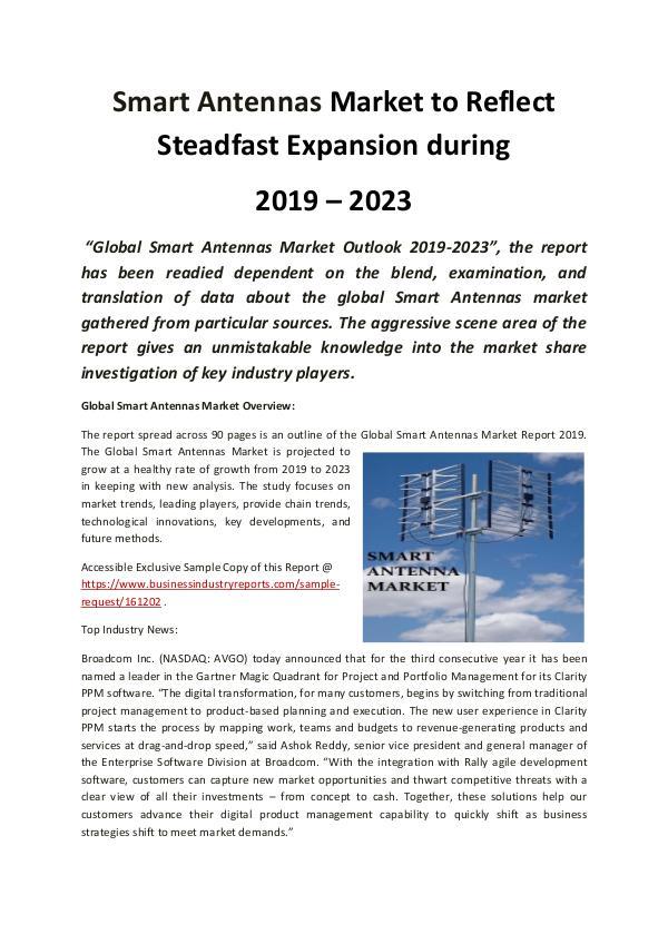 Global Smart Antennas Market 2019