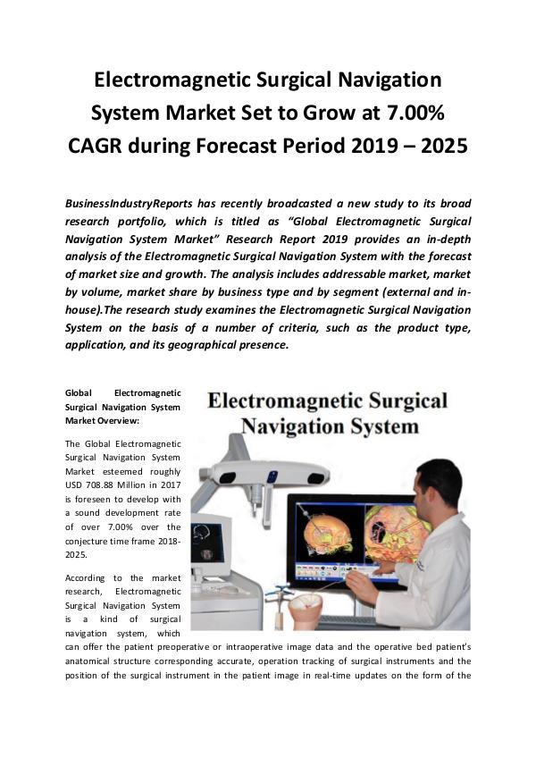 Global Electromagnetic Surgical Navigation System