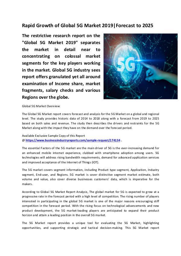 5G Market 2019