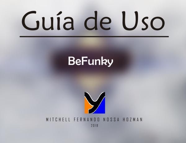 Guía de Uso BeFunky Guia de uso