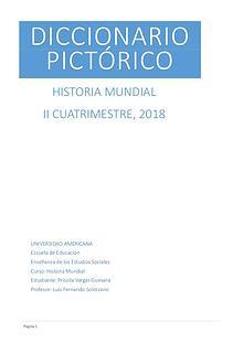 Diccionario pictórico Historia Mundial