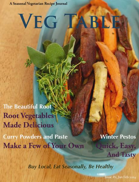 Recipe Journal, Jan/Feb 2014 Issue #1