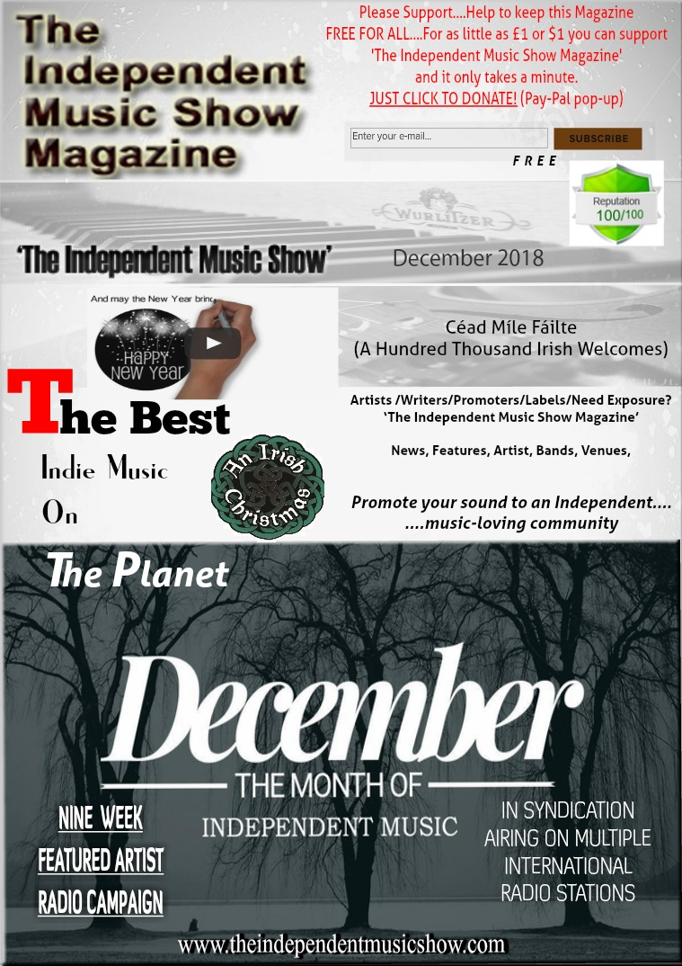 'The Independent Music Show Magazine' December 2018