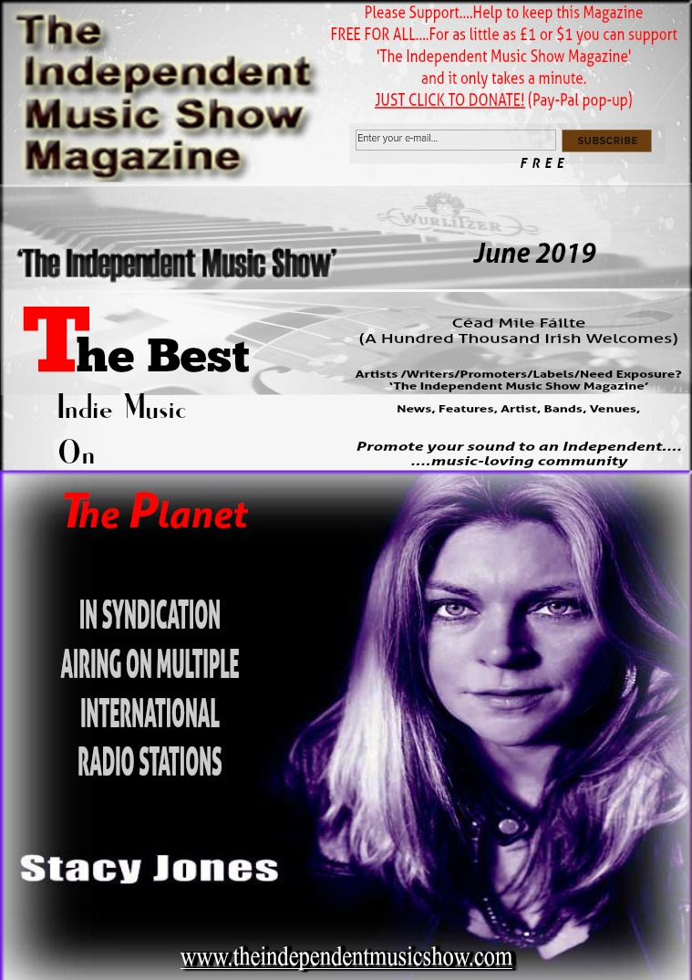 'The Independent Music Show Magazine' June 2019
