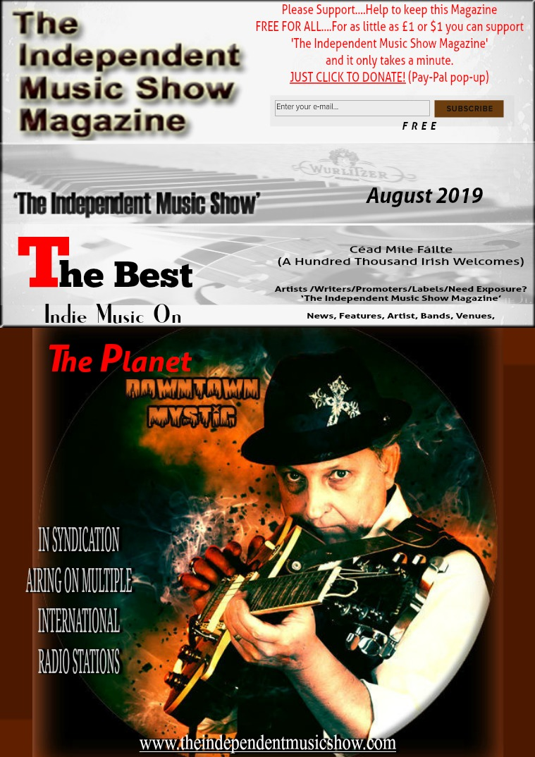 'The Independent Music Show Magazine' August 2019