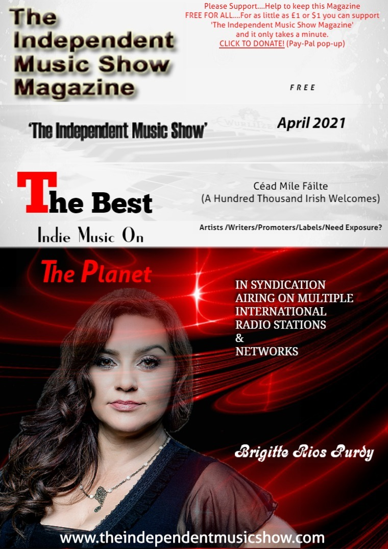 'The Independent Music Show Magazine' April 2021