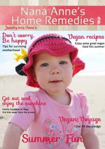 Nana Anne's Home Remedies January Issue
