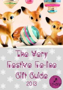 Very Festive Fe-line Gift Guide Christmas 2013