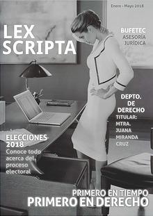 lex scripta