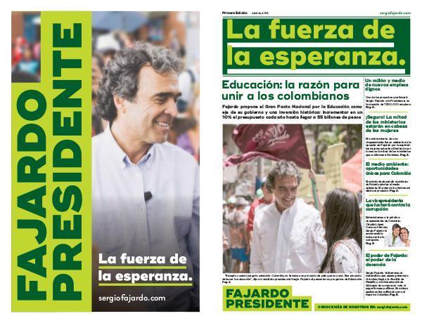 Periodico Sergio fajardo PEQUEÑO
