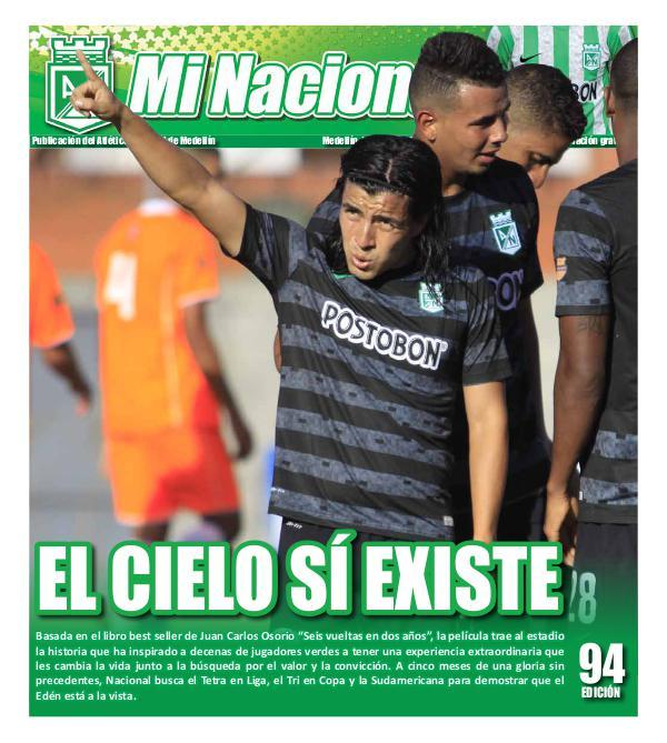 Futbol - Club Atletico Nacional EDICION-94