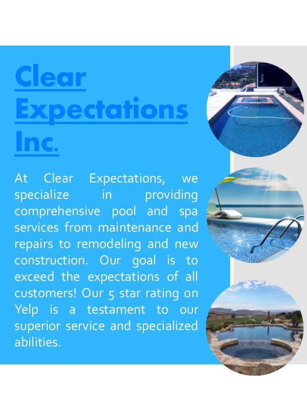 Clear Expectations Inc. Clear Expectations Inc.