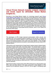 VPN Market share research by applications and regions for 2018-2024