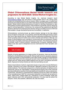 Chloromethane Market - Share, Growth, Analysis, Forecast to 2025