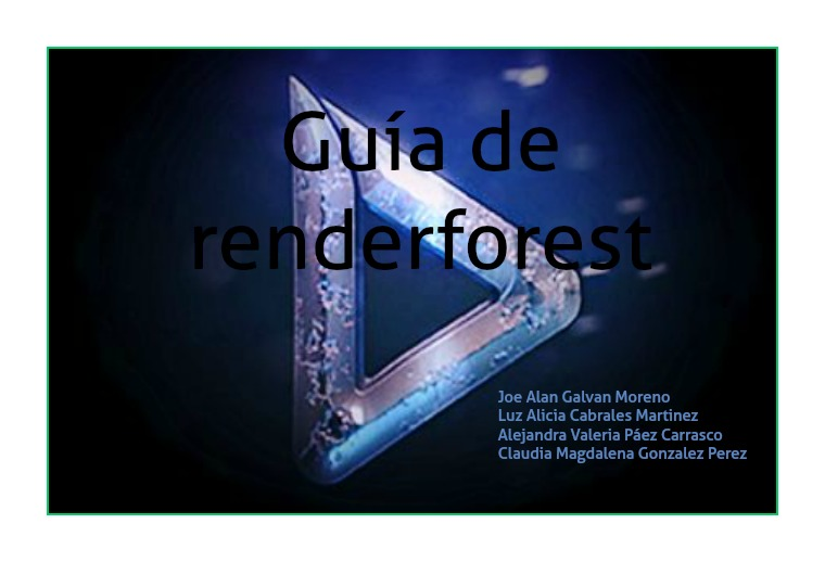 how to use renderforest (clone)