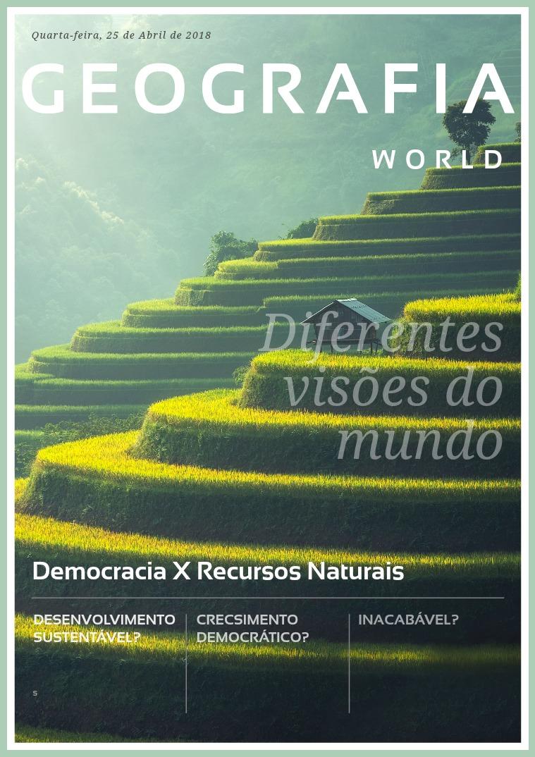 Democracia X Desenvolvimento Sustentável 1