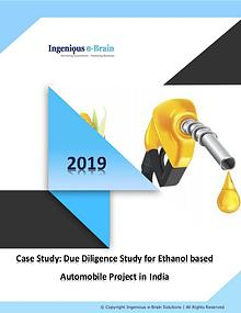 Ethanol based Automobile Project in India:Due Diligence