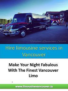 limo service Richmond