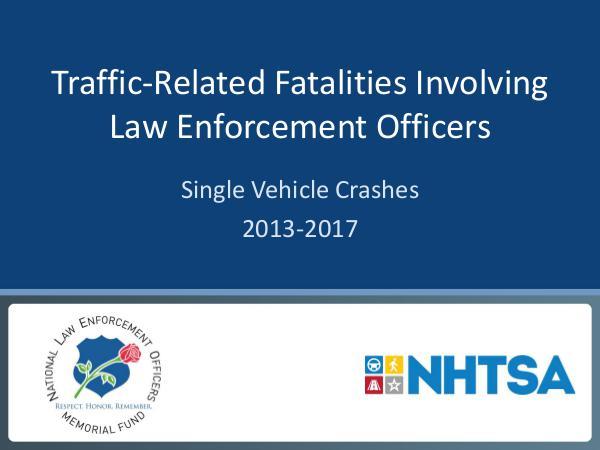 Single Vehicle Crashes 2013-2017 05-Single-Vehicle-Crashes