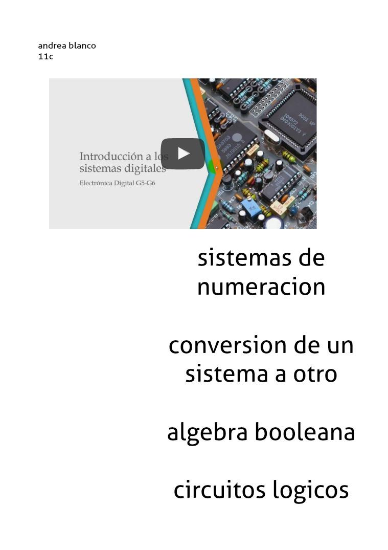 sistemas de numeracion,....... Sistemas_Digitales_Introduccion (1)