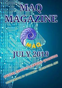 The magazine MAQ July 2019