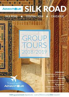 Advantour Silk Road Group Tours Brochure