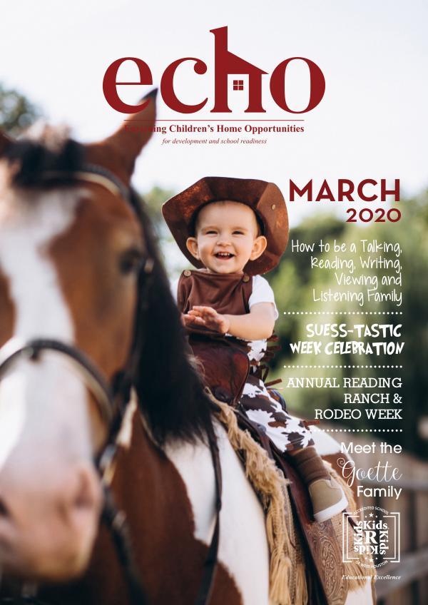 ECHO March 2020 20KRK017 March Newsletter
