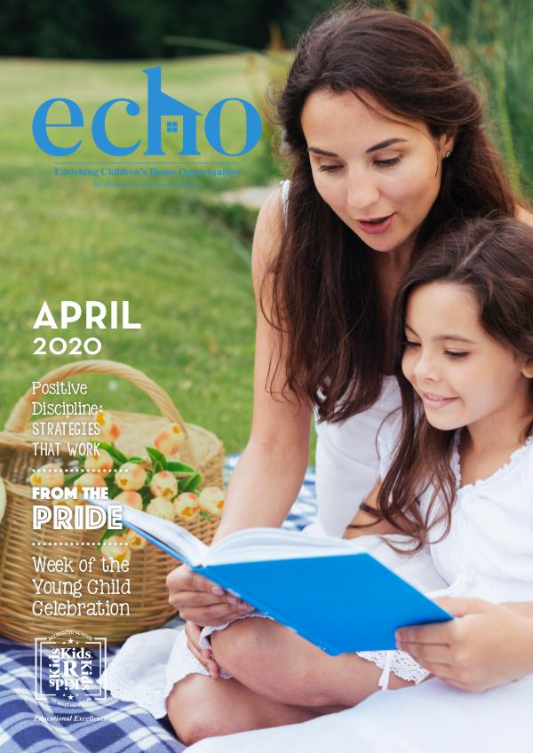 ECHO April 2020 April Newsletter