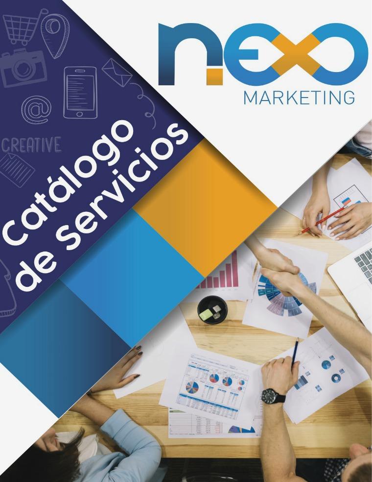 Catálogo de servicios - Marzo 2018 - Nexo Marketing VE Catálogo de servicios - 2018