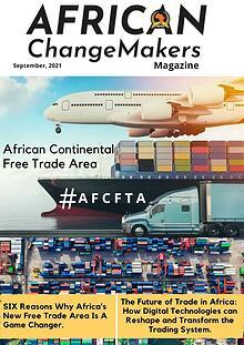 African ChangeMakers Magazine - #AfCFTA, 2021.
