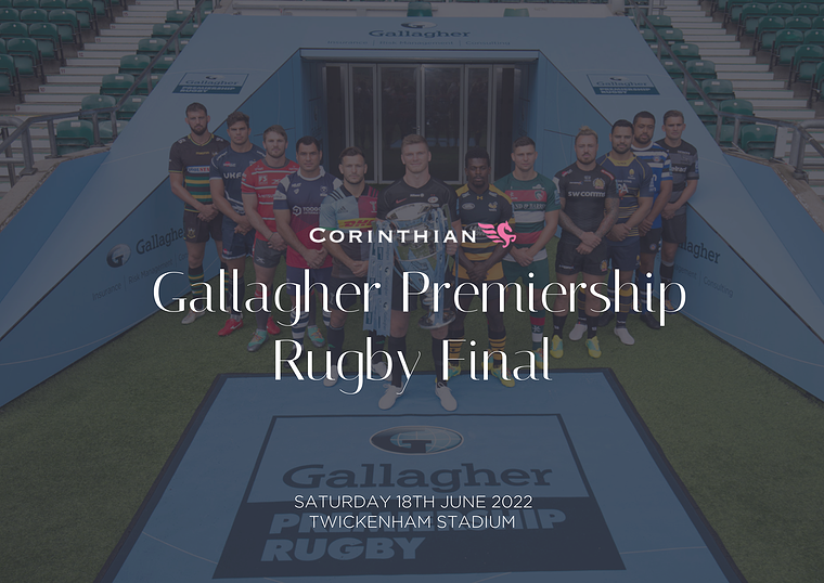 Rugby Events - Corporate Hospitality Gallagher Premiership Rugby Final Restaurant 2021