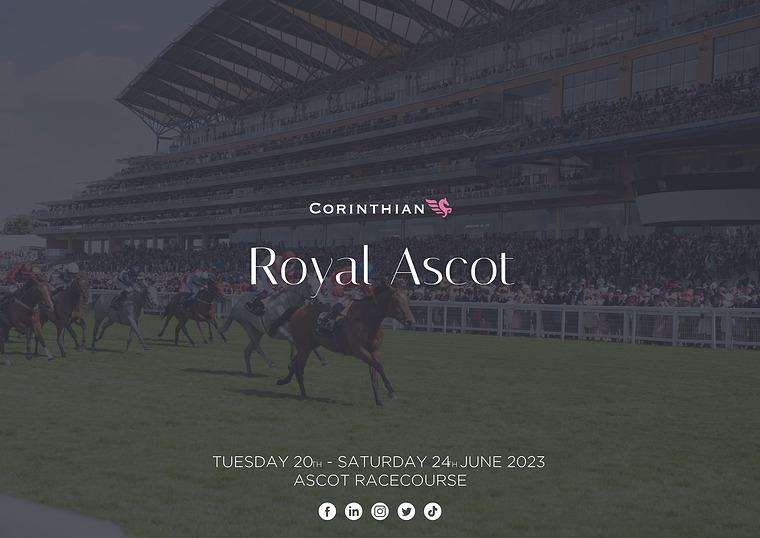 Royal Ascot | Corinthian Club (O5) Horse Racing | Corporate Hospitality
