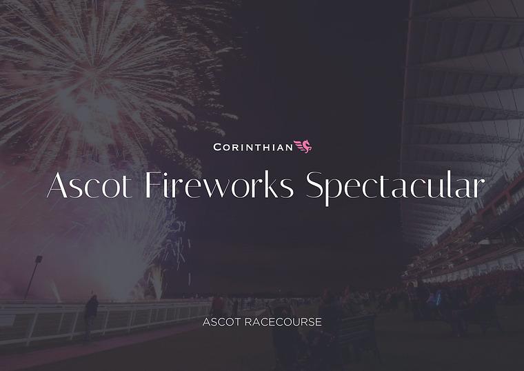 Fireworks Spectacular Ascot | PB Horse Racing | Corporate Hospitality