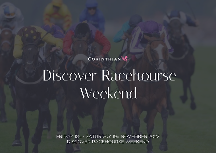 Discover Racehorse Weekend | Private Box Horse Racing | Corporate Hospitality