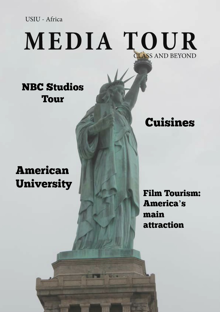 Media Tour Experience issue #1