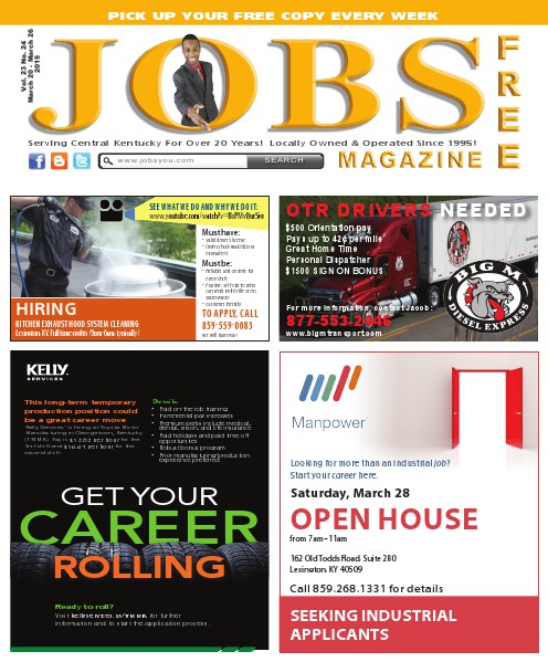 Jobs Magazine March 20 – 26, 2015