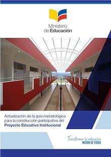 Guia Metodologica Construccion Participativa PEI 2017