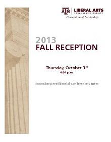 Fall Reception