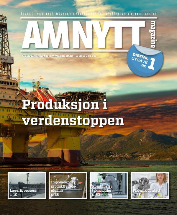 AMNYTT Nr. 1 2017