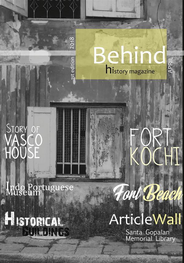 Behind history magazine behind