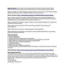 2024 Global Kaposi Sarcoma Market Size, Status and Forecast