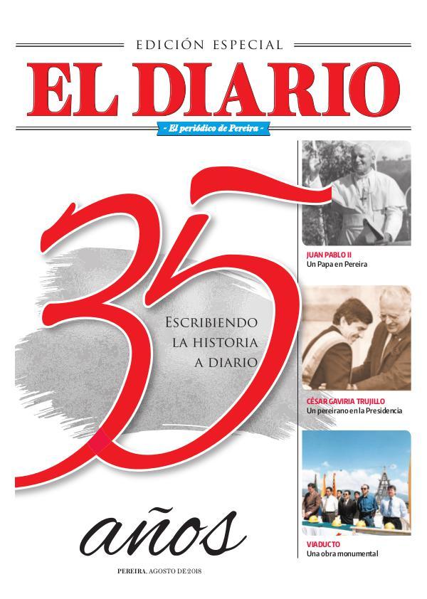 Especial 35 Años El Diario especial 35 años