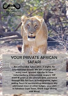 Toro River Lodges 2018 - Dream Safari