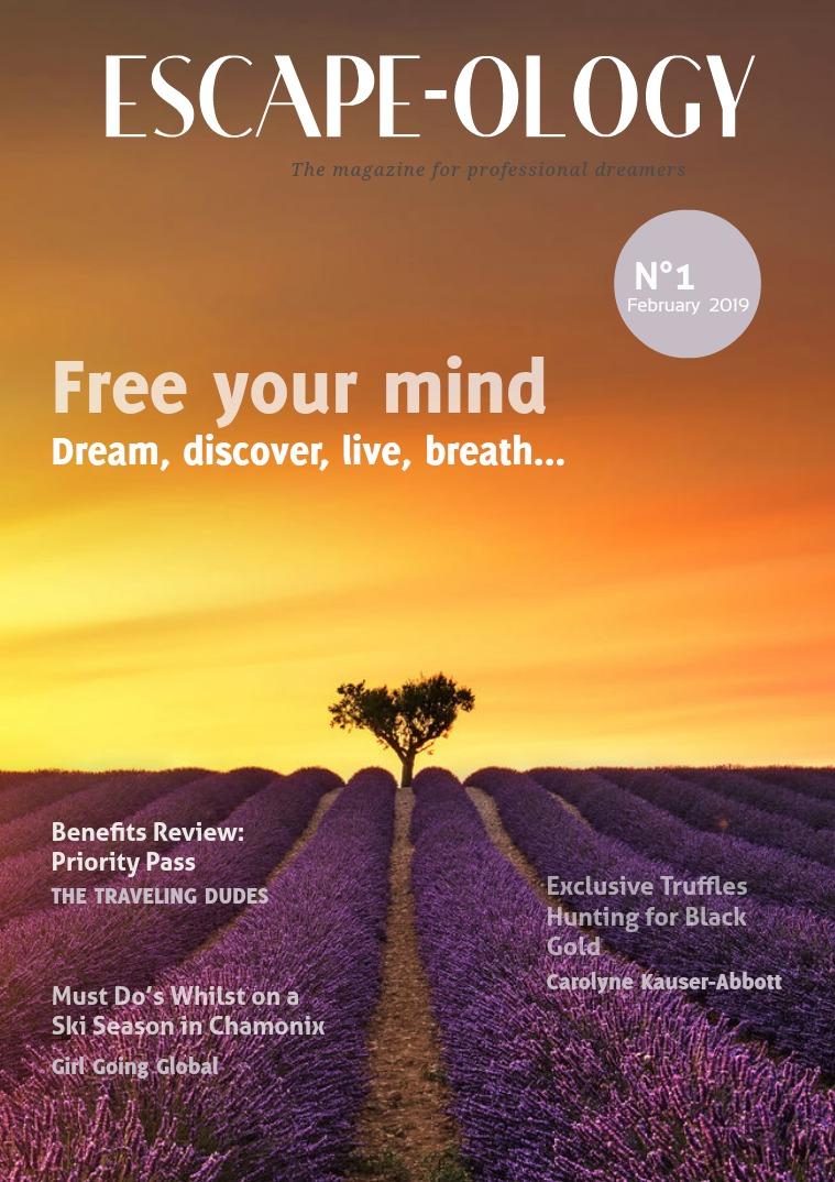 ESCAPE- OLOGY Magazine Issue 1